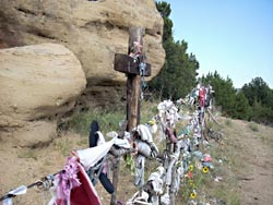 Roadside Shrine, Walsenburg, CO