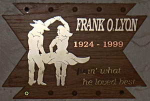 In Memory Of Frank O. Lyon